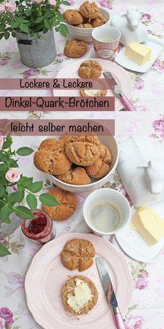 Brötchen selber backen geht so einfach und diese köstlichen Brötchen mit Dinkelmehl und Speisequark sind schnell auf dem Tisch. Sie sind einfach zu machen und großartig im Geschmack. Ich kann nur sagen…diese fluffiigen Brötchen sind einfach und köstlich! #brötchenbacken #brötchenbackenschnell #brötchenselbermachen #fluffige #ohnehefe #ohnetrockenhefe #schnelleinfach #gesund