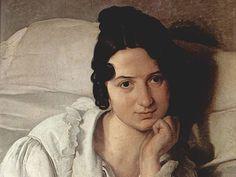 Ritratto di Carolina Zucchi (La malata), GAM di Torino - Risposta 1309: Francesco Hayez