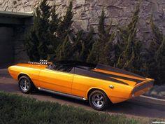 Dodge dart gt convertible daroo i concept car 1967