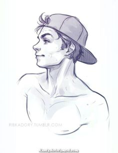 quick sketch of Ben at the end of work day (: i think he likes baseball hats or . - quick sketch of Ben at the end of work day (: i think he likes baseball hats or it could be Dylan O - Pencil Art Drawings, Art Drawings Sketches, Cool Drawings, Drawings For Boys, Sketches Of Boys, Hard Drawings, Pencil Drawing Tutorials, Character Drawing, Character Design