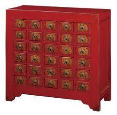 30 Drawer Medicine Cabinet