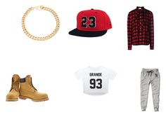"""Hip Hop"" by donkermag on Polyvore featuring Abercrombie & Fitch, Timberland, Alessandra Rich and RED Valentino"
