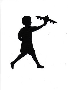 silhouette of children playing - Google Search