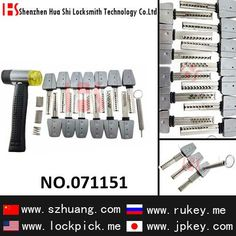 Locksmith tool to open kaba locks 13 Pieces Crescent,Plane kappa lock bump key. #Lock #bumping. http://mrlocksmithvancouver.com