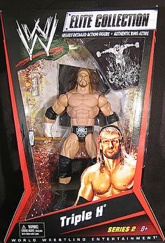 hhh action figure elite for sale   ... about TRIPLE H - WWE ELITE 2 MATTEL TOY WRESTLING ACTION FIGURE