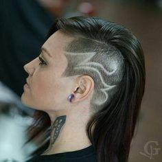- The HairCut Web Super Trendy Hair Tattoos! – The HairCut Web Super Trendy Hair Tattoos! – The HairCut Web Shaved Side Hairstyles, Undercut Hairstyles, Cool Hairstyles, Haare Tattoo Designs, Tatto Designs, Half Shaved Hair, Shaved Hair Designs, Haircut Designs, Undercut Designs
