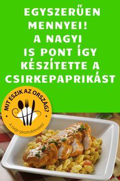 Te ismered ezt a változatot! #paprikás #csirke Beef, Chicken, Food, Meat, Essen, Meals, Yemek, Eten, Steak
