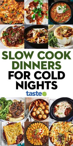 Nothing warms you up quite like a slow-cooked dinner, whether it's melting tender beef ragu or a delicious lamb shoulder for a Sunday roast – dig in! #slowcooker #slowcooked #slowcook #australia #australian #australianrecipes #slowcookerrecipes Slow Cooker Pressure Cooker, Crock Pot Slow Cooker, Slow Cooker Recipes, Crockpot Recipes, Easy Family Meals, Quick Meals, Lamb Shoulder, Slow Cooked Meals, Winter Dinner Recipes