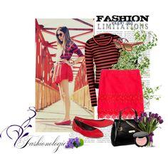 Ponle pasión a tu look con la intensidad del rojo. 1.- Lentes Ray Ban Rojos http://fashion.linio.com.mx/a/h