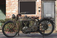 Original 1915 Harley-Davidson 11-F Twin Classic Motorcycle                                                                                                                                                                                 More