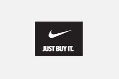"How brand logos really look to consumers; from the ""Naked Brand"" series by MyHotJuly #Nike"