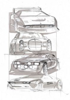 via Audi Design Sketches by Balázs Filczer