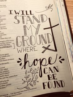 Bible Journaling Ideas - O'Lord //Lauren Daigle