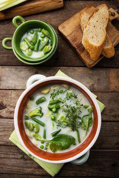 LETNIA ZUPA Z BOBEM I FASOLKĄ - zupa z warzywami