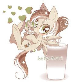 .:Latte Swirl:. 13 bits ADPOTED BY @Superawesome21