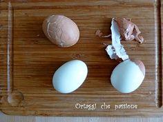 Come sgusciare le uova sode