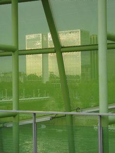 Sitting on the Docks of the Seine…, Paris XIII – France Green Algae, Ludwig Mies Van Der Rohe, Paris, Architecture Details, Architects, Design, Montmartre Paris, Paris France