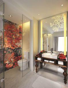 Mira Moon Hotel, Hong Kong | By Wanders & Yoo | New Moon Bathroom