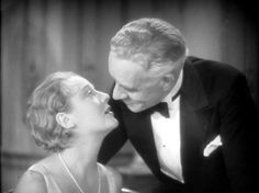 Dorothy Mackaill and Lewis Stone in The Office Wife (1930)