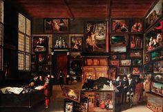 Hieronymus Francken II Kunstkabinet – c. 1621 - KMSK - Brussel
