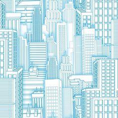 ZB3267-Boys Will Be Boys Spiderman City Wallpaper - indoorwallpaper.com