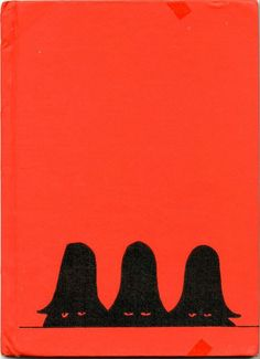 Beautiful vintage cover of Tomi Ungerer's The Three Robbers.