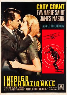 "Movie Posters:Hitchcock, North by Northwest (MGM, 1959). Italian 4 - Foglio (54.25"" X77.5"").. ... Image #1"
