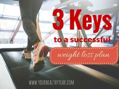 Trying to lose weight? Check out these 3 keys to a good weight loss plan.
