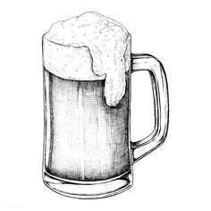 Hand drawn beer alcoholic drink down no Best Picture For healthy food delicious For Your Taste You are looking for something, and it is … Drawing Sketches, Drawings, Drawing Tips, Object Drawing, Desenho Tattoo, Chalk Art, Free Illustrations, Pictures To Draw, Alcoholic Drinks