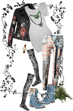 """""""Gothic Baroque Mix"""" by prettyroses ❤ liked on Polyvore"""