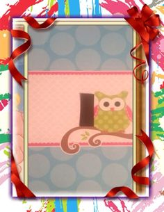 Cute Owl Pattern Light Switch Cover