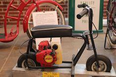 OldMotoDude: Zipper Micro mini-bike on display at the St. Build A Go Kart, Trike Bicycle, Motorcycle Museum, Mini Bike, Street Bikes, Dirt Bikes, Vintage Motorcycles, Scooters, Kansas