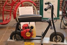OldMotoDude: Zipper Micro mini-bike on display at the St. Build A Go Kart, Trike Bicycle, Motorcycle Museum, Minibike, Street Bikes, Dirt Bikes, Vintage Motorcycles, Scooters, Minis