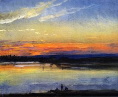 "sbsebek: "" View over the Elbe and the 'Der Bär' Bastion Johan Christian Dahl """