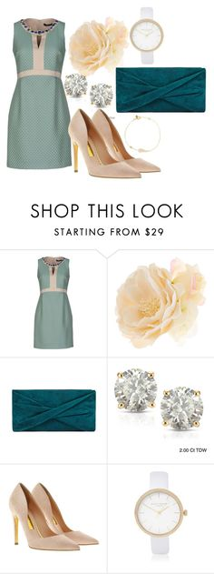 """Isak's Christening"" by dezac-novaes on Polyvore featuring Accessorize, Auriya, Rupert Sanderson, River Island and Latelita"