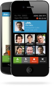 Conference Calling #Android and #Iphonemobileapps