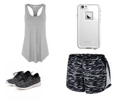 """Simple"" by kkmahony ❤ liked on Polyvore featuring NIKE, Glamorous and LifeProof"