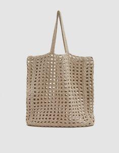 Crochet Net Bag in Natural