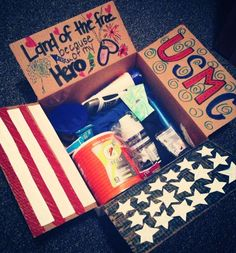Care package 4th of July