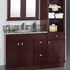 Espresso Series Vanities RTA Cabinets