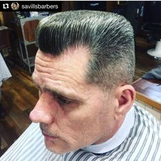 "51 Me gusta, 1 comentarios -  Flattop Haircut  (@flattophaircut) en Instagram: "" #FlattopFriday  Repost @savillsbarbers with @repostapp ・・・ A flap top pomp created by…"""