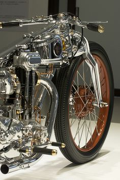 Chicara liquid chrome art motorcycle by Japenese artist, Chicara Nagata. Spare million anyone?