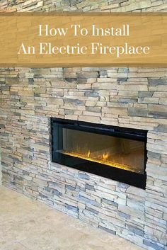 With sophisticated style and attractive design, electric fireplaces are a popular choice among homeowners. #mortonstones  #rustic #modernhome #decor #interiordesign #interior #homeideas #brickveneer #homeimprovement #installelectricfireplace #diy #ectricfireplace