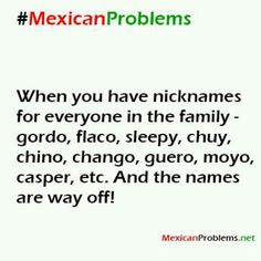 Well except flaco/ flaca or Gordo/ gorda