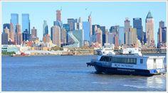 Manhattan & NY Waterway ship once taken from Weehawken, NJ