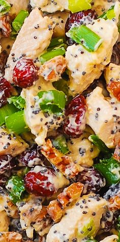 Cranberry Pecan Chicken Salad with Poppy Seed Dressing – also great for leftover Thanksgiving turkey meat! gluten free recipe Cranberry Pecan Chicken Salad with Poppy Seed Dressing – also great for leftover Thanksgiving turkey meat! Gluten Free Recipes, New Recipes, Dinner Recipes, Cooking Recipes, Favorite Recipes, Healthy Recipes, Great Salad Recipes, Cooking Corn, Vegan Recipes