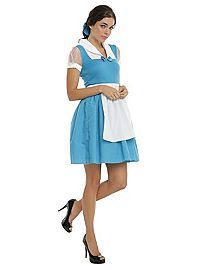 HOTTOPIC.COM - Disney Beauty And The Beast Peasant Belle 2-Piece Costume