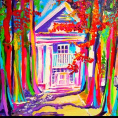 Landri Mcintosh - My favorite artist!! This is Rowan Oak, in Oxford, Ms.  The home of William Falkner.