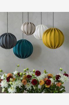 PR Home - Malou utomhuslampa - natur - Blackballoon Ceiling Decor, Ceiling Lights, Bamboo Light, Hanging Canvas, Big Girl Rooms, Modern Kitchen Design, Home Renovation, Pendant Lighting, Interior Decorating