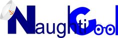 Logo for my new NaughtiCool design range on Redbubble.  https://www.redbubble.com/people/RobinBCreative/shop?asc=u